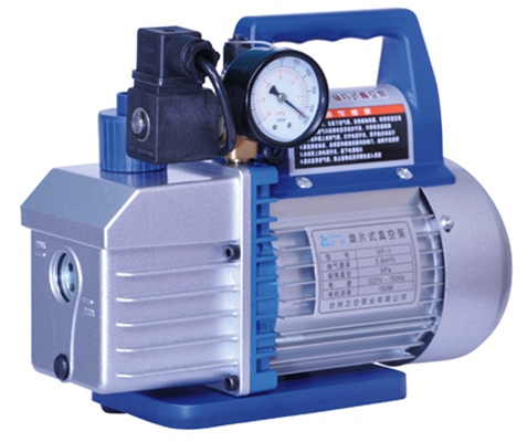 New refrigerant single stage vacuum pump