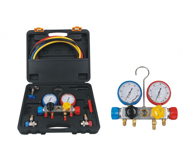Manifold Gauge/Charging Hose Kit/Refrigeration Tools/Refrigeration Pressure Gauge
