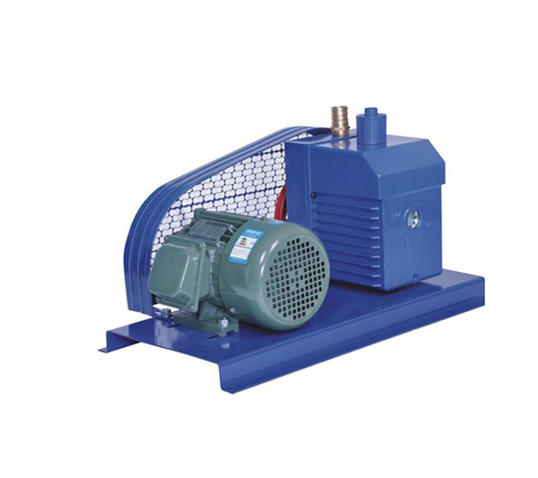 Pulley-Style Stage single vacuum pump